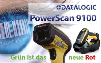 NEU: PowerScan 9100 – GRÜN IST DAS NEUE ROT