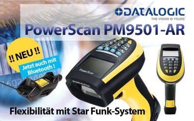 NEU: PowerScan PM9501-AR  –  Vielseitig und leistungsstark.