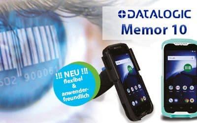 NEU: Memor 10 – die flexible und anwenderfreundliche Lösung aus dem Haus Datalogic.
