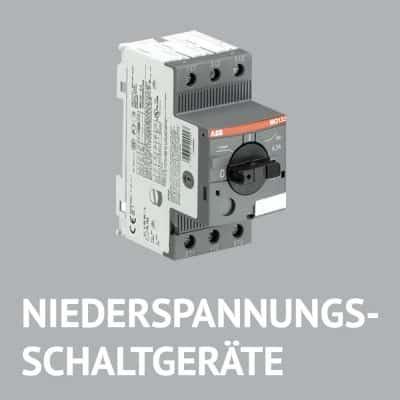 NIEDERSPANNUNGS-SCHALTGERÄTE